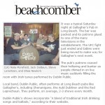 dublin public hire irish band beachcomber